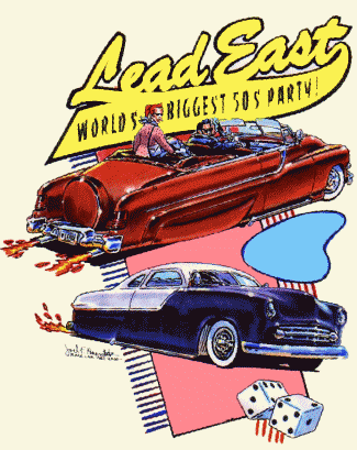 Lead East, World's BIGGEST 50's Party!