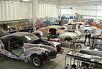 Zephyrs being manufactured at Speedster Motors
